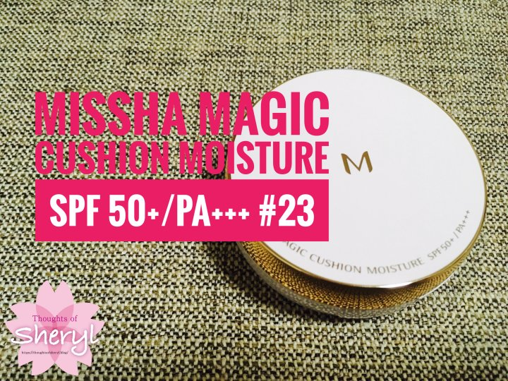 Review: Missha Magic Cushion Moisture SPF 50+/PA+++