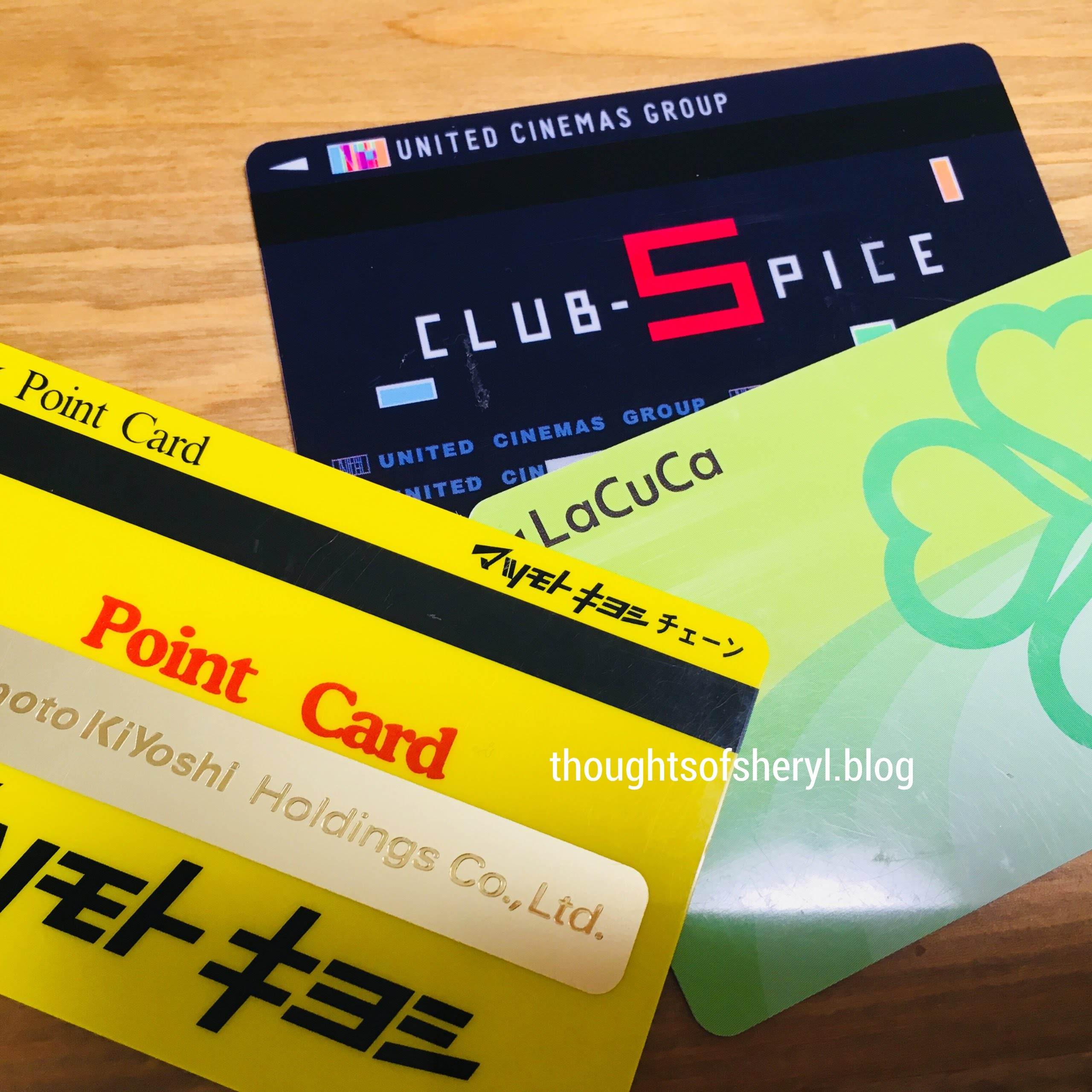 point cards in japan