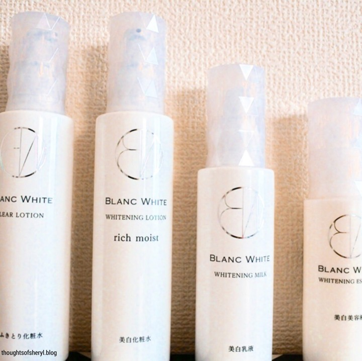 Review: Matsumoto Kiyoshi Blanc WhiteSeries