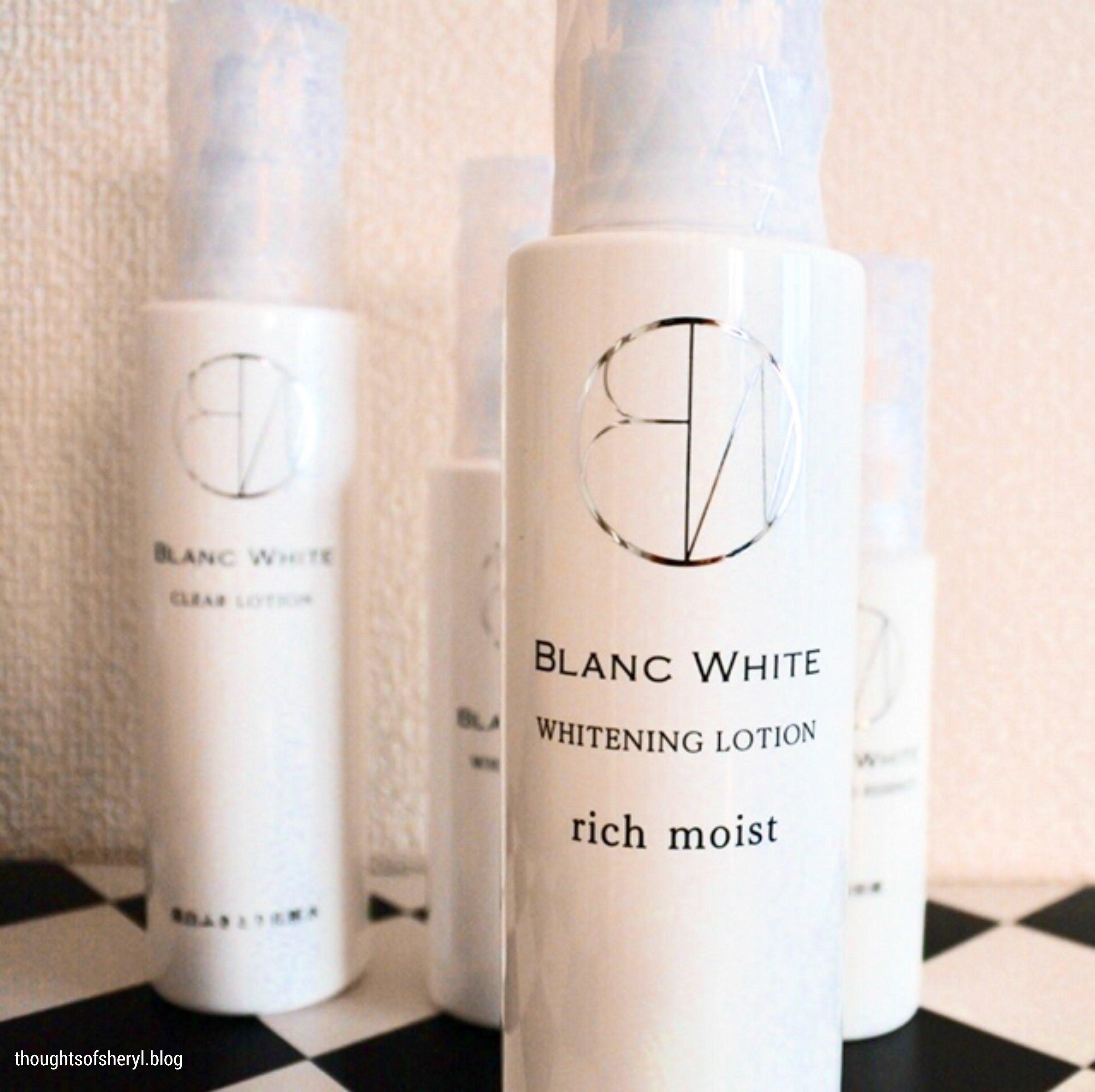 review blanc white whitening lotion rich moist