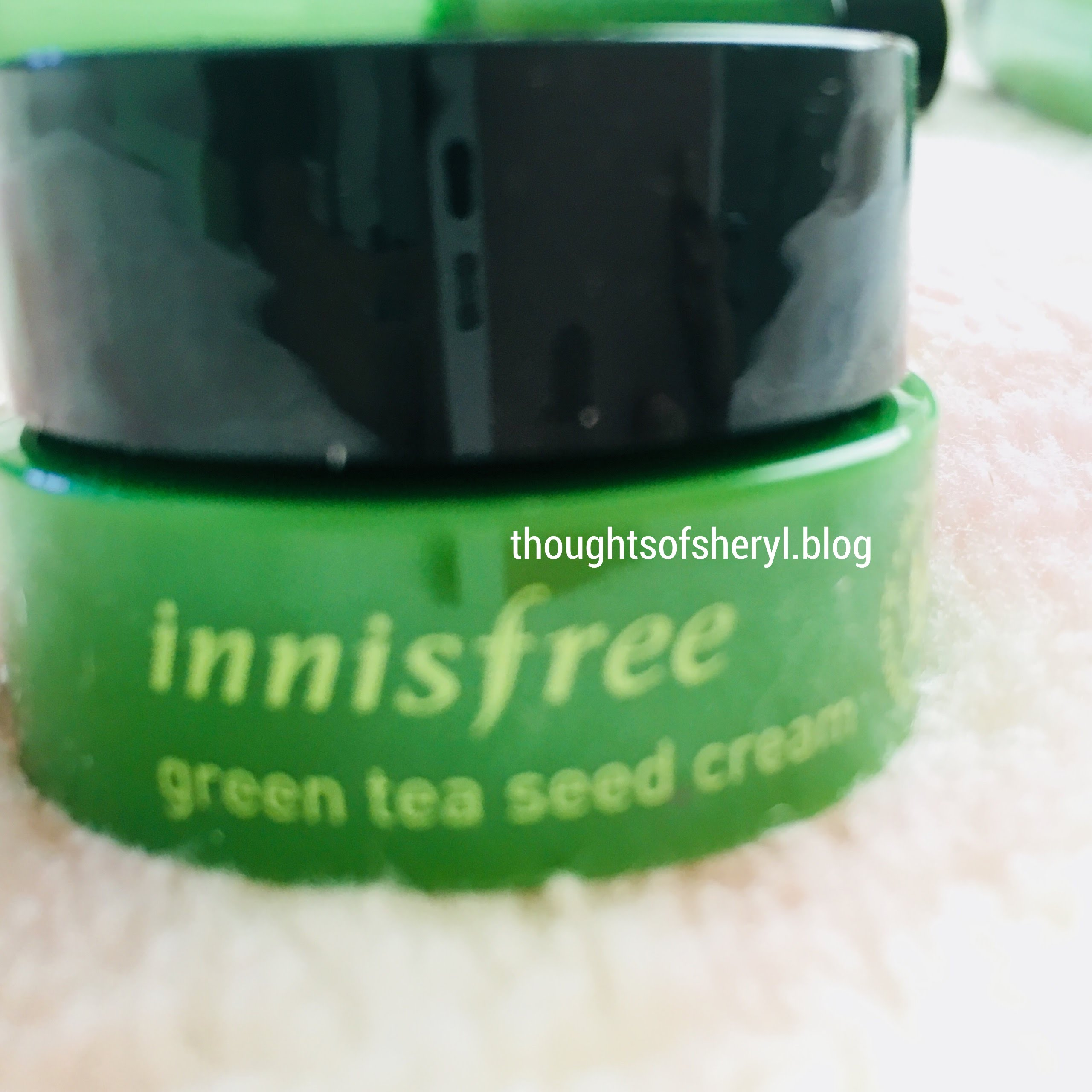 innisfree green tea seed cream review