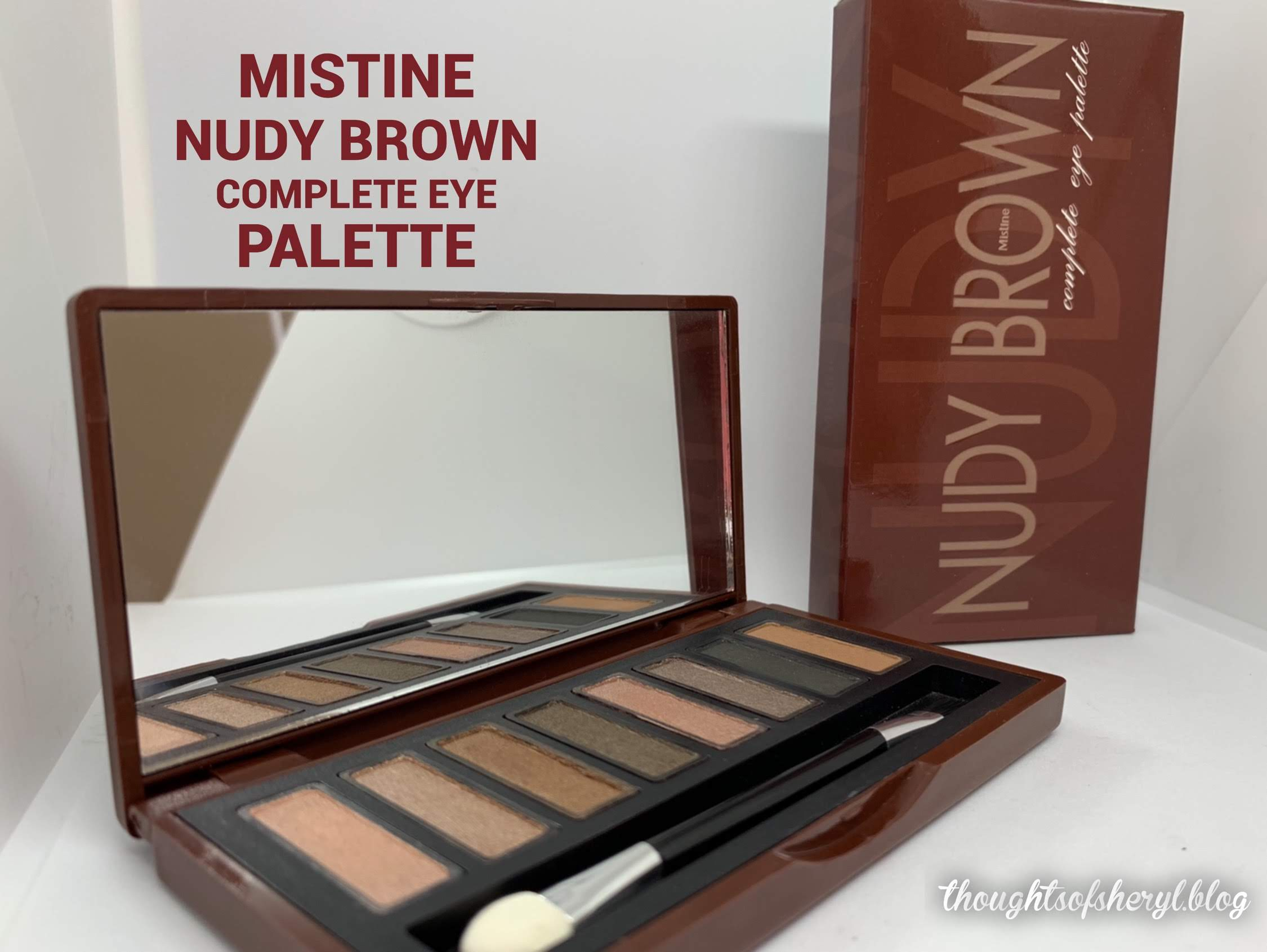 mistine nudy brown complete eye palette review