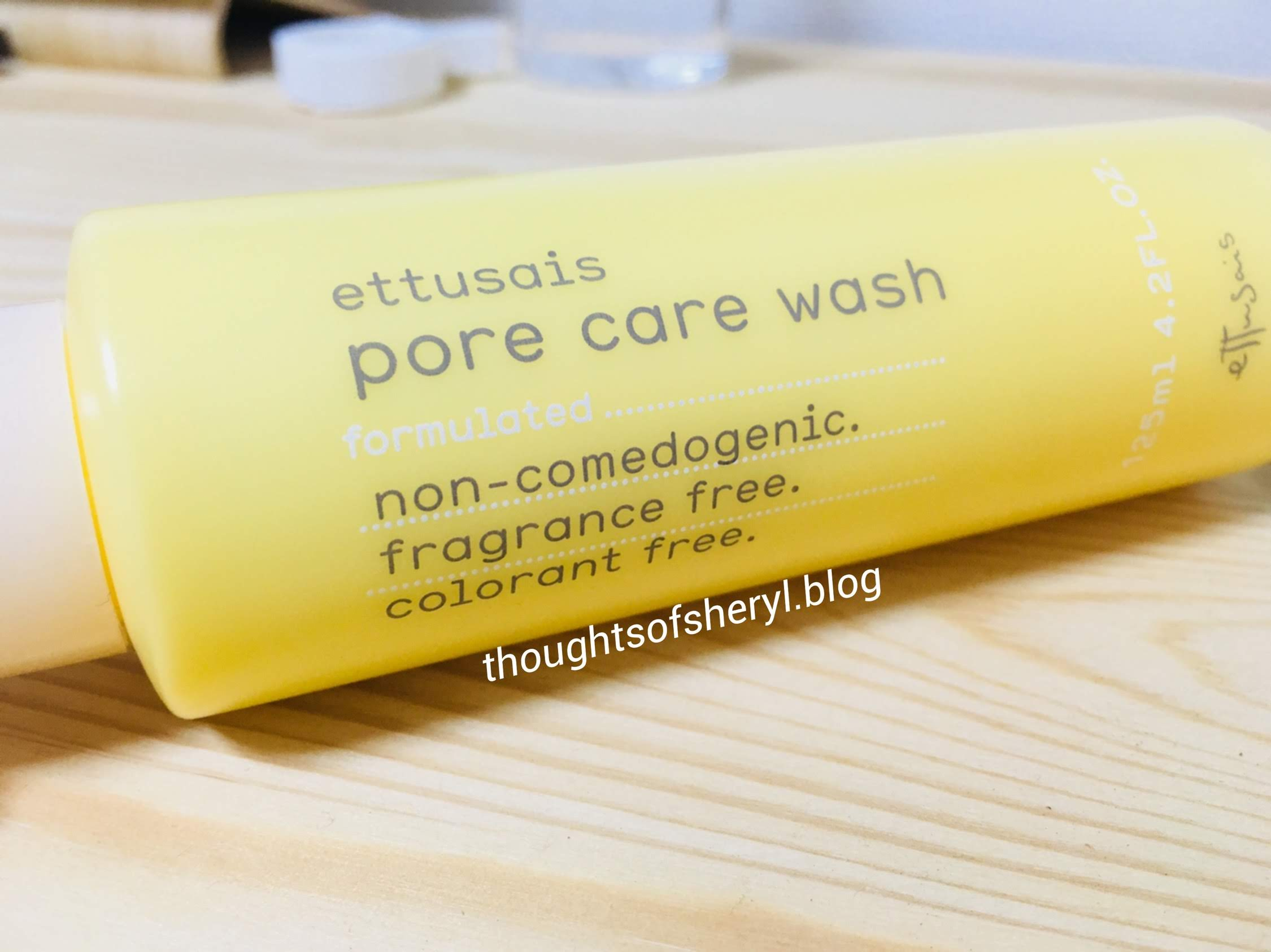 review ettusais pore care wash