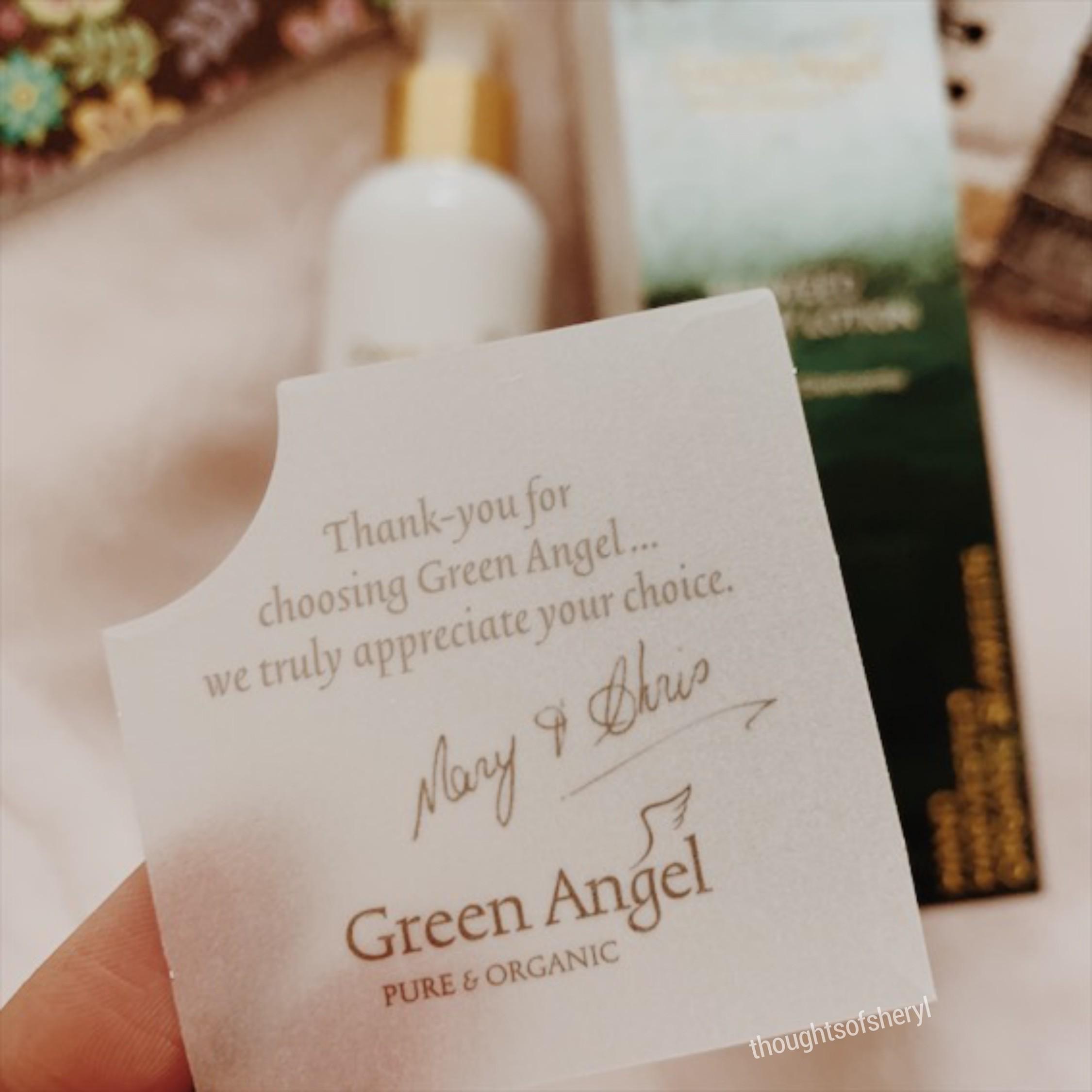 green angel seaweed body lotion