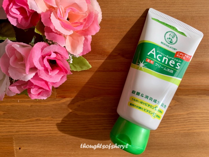 Review: Rohto Mentholatum Acnes Facial Washing Cream