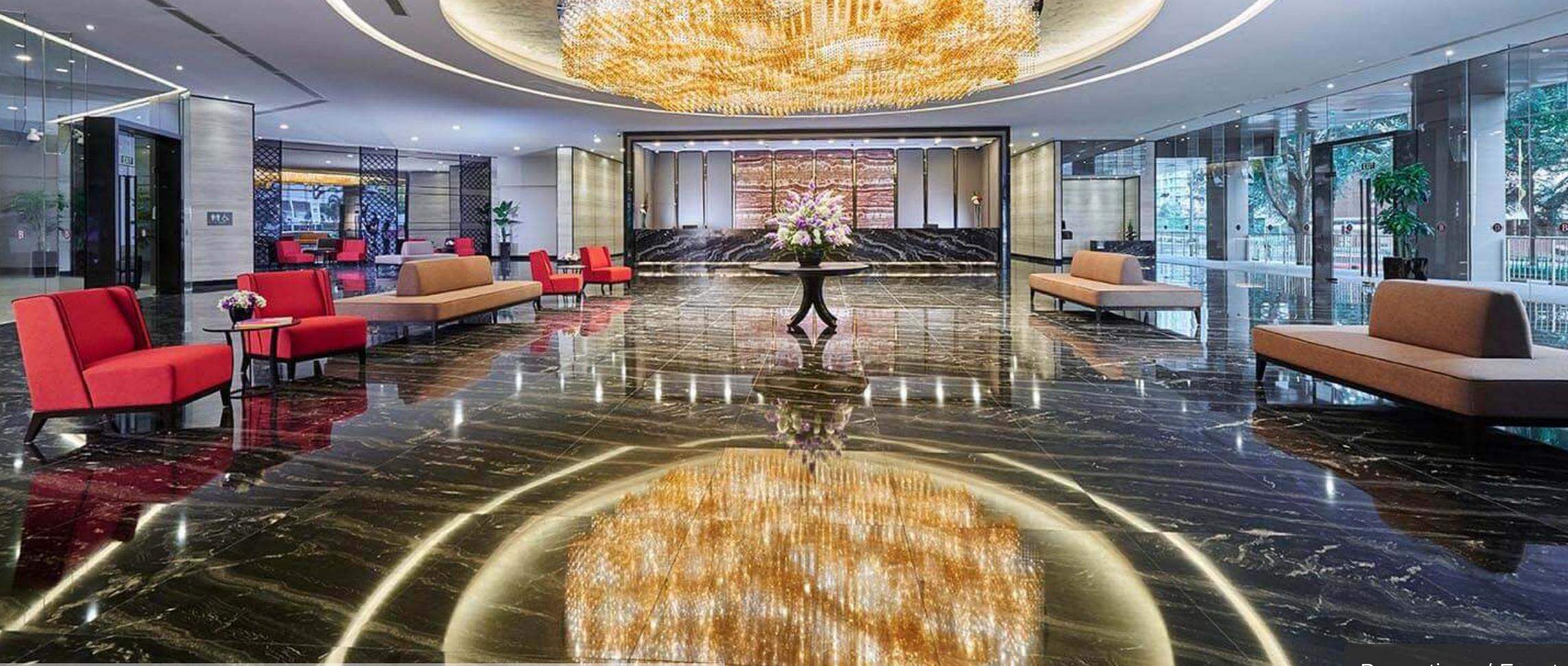 hotel boss singapore lobby