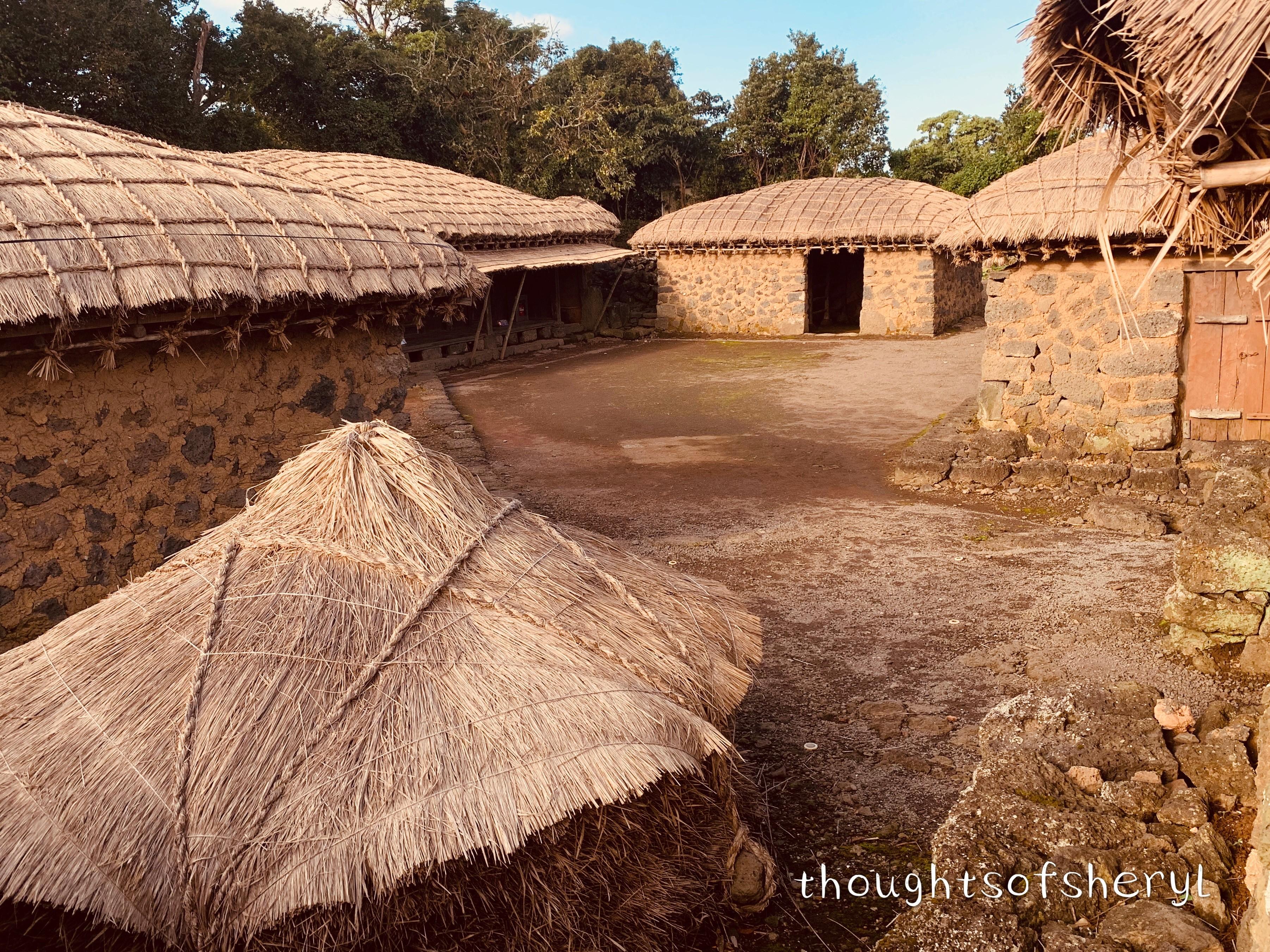 seongeup folk village jeju