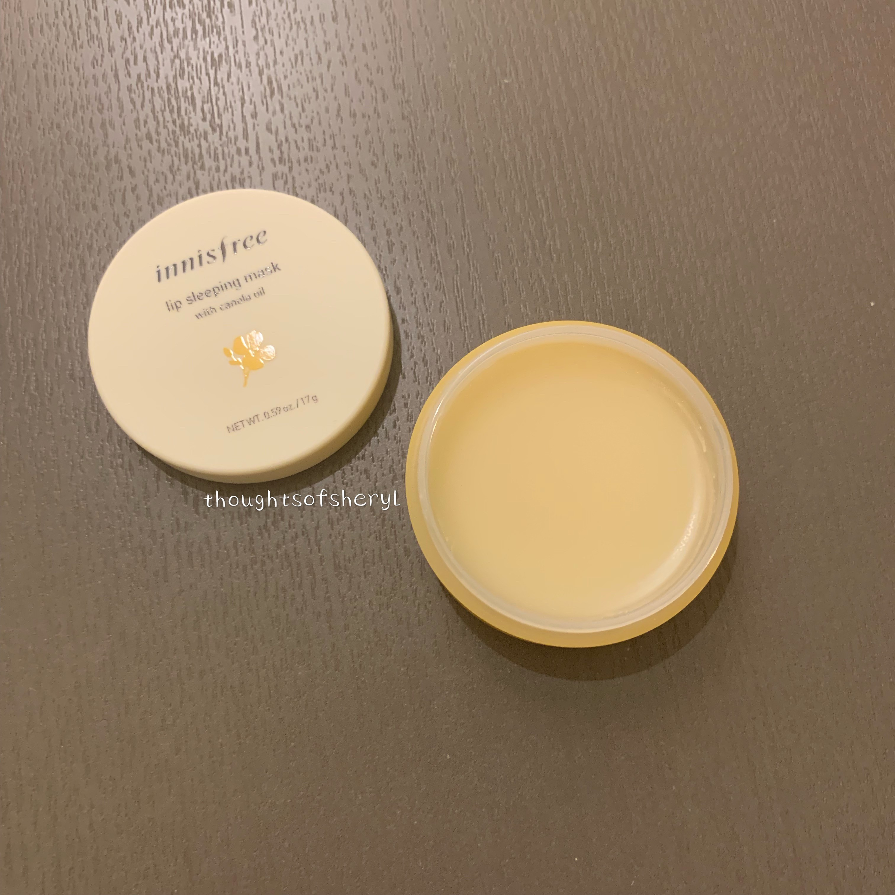innisfree lip sleeping mask with canola oil review