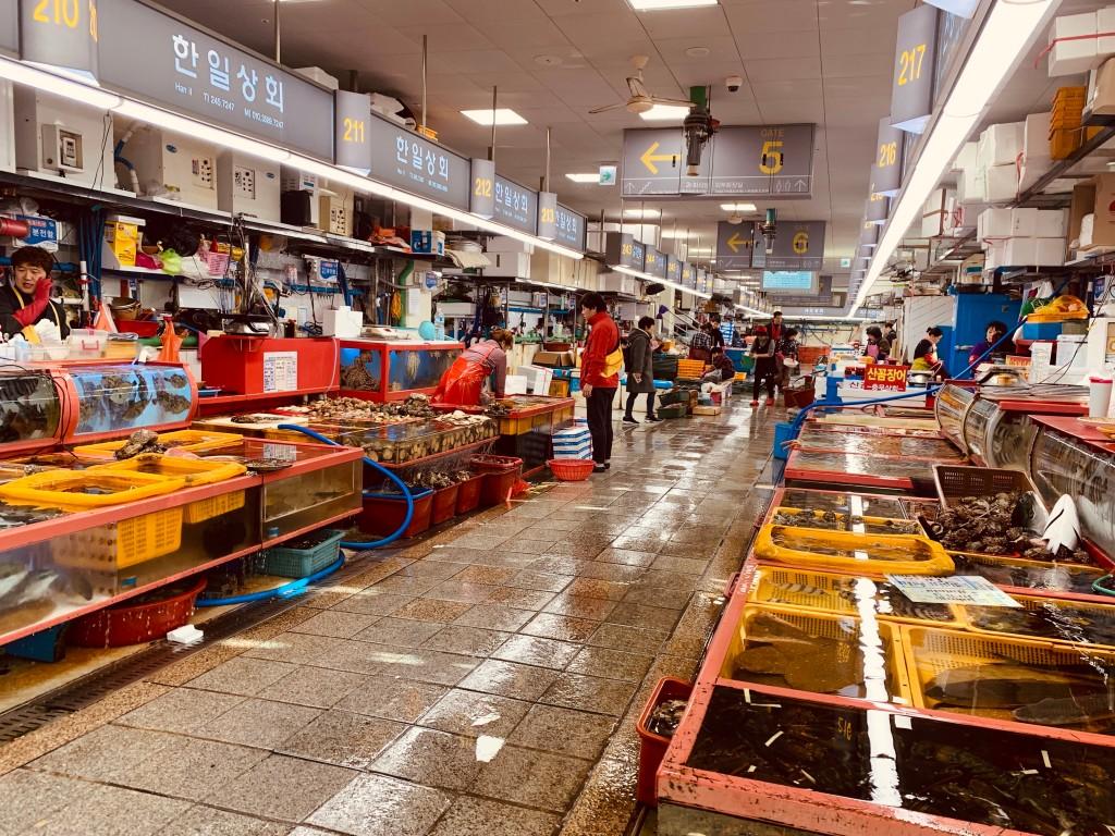 jagalchi market busan