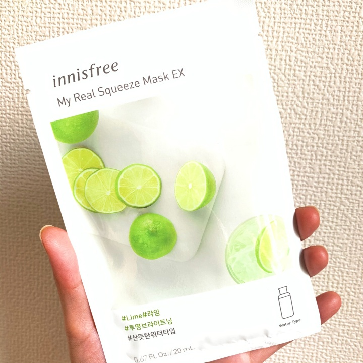 Review: Innisfree My Real Squeeze Mask EX(Lime)