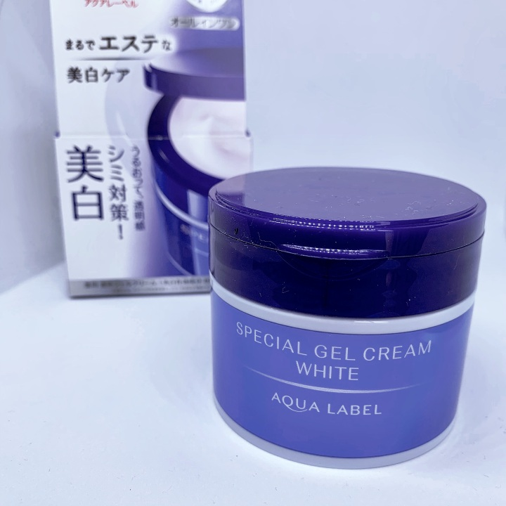aqualabel special gel cream white review